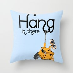 Pixar/Disney Wall-e Hang in There Throw Pillow