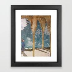 collage 17. Framed Art Print