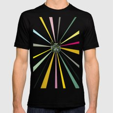 Cat's Eyes Mens Fitted Tee SMALL Black