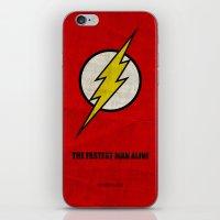 Flash (Super Minimalist … iPhone & iPod Skin