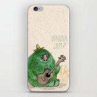 Monster Jam iPhone & iPod Skin