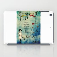 A dream and a miracle iPad Case