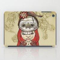 I Wear My Lucky Skull  iPad Case