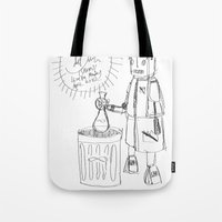 Danger. [SKETCH] Tote Bag