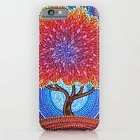 iPhone Cases featuring Autumn Blossoms by Elspeth McLean