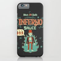 iPhone & iPod Case featuring Inferno by Steve Simpson
