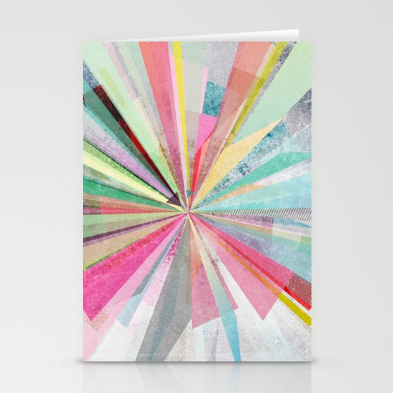 Graphic X Stationery Card