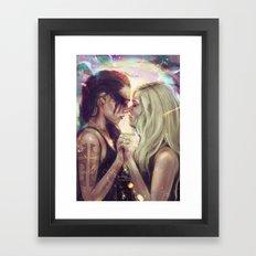 Soft Summer Kisses Framed Art Print