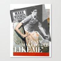 Football Fashion #5 Canvas Print