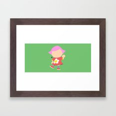 Villager♀(Smash) Framed Art Print