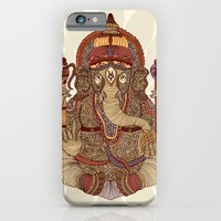 iPhone & iPod Case featuring Ganesha: Lord of Success by Valentina Harper