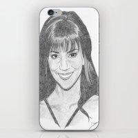 Halle Berry iPhone & iPod Skin