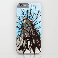 iPhone & iPod Case featuring The Wise Mountain by Michael Murdock