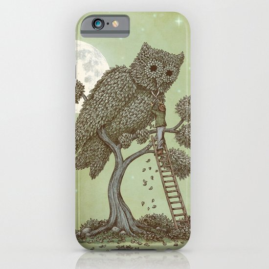 The Night Gardener (Colour Option) iPhone & iPod Case