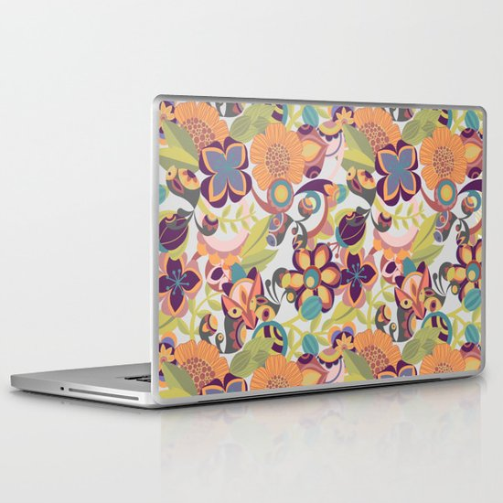 Birds in the fall Laptop & iPad Skin