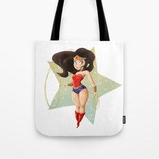 Wonder Little Woman Tote Bag
