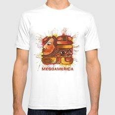 M@Y@ Mens Fitted Tee White SMALL