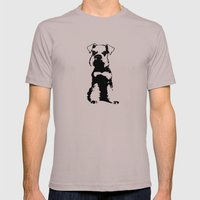 Miniature Schnauzer Mens Fitted Tee Cinder SMALL