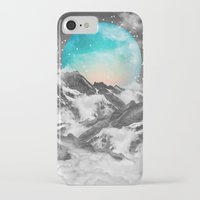 mountain iPhone & iPod Cases featuring It Seemed To Chase the Darkness Away by soaring anchor designs