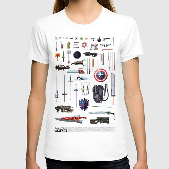 Famous Weapons T-shirt