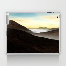 Foggy Mountains Laptop & iPad Skin