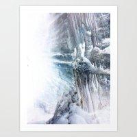 Ice Scape 3 Art Print