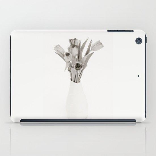 Tulips in White iPad Case