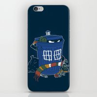 Doctor The Grouch iPhone & iPod Skin