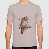 Pearly Parrot  Mens Fitted Tee Cinder SMALL