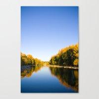 Autumn Reflections - Cal… Canvas Print