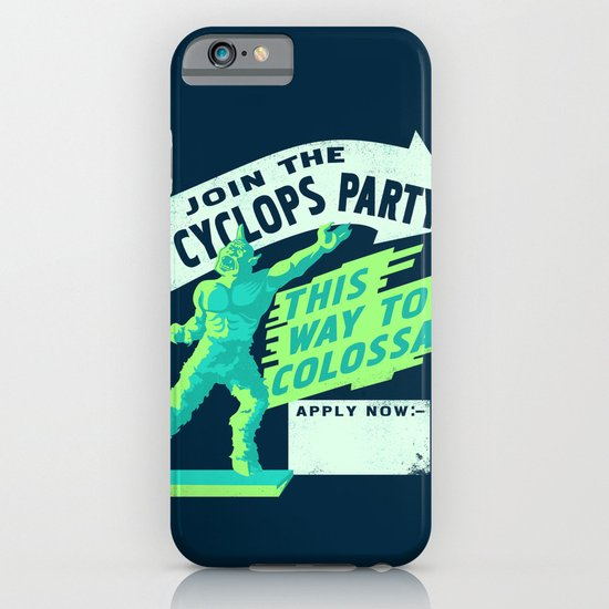 Cyclops Party iPhone & iPod Case