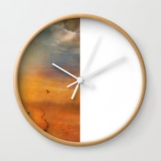 The Low Plain of Decision Wall Clock
