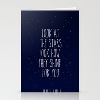 Look How They Shine For … Stationery Cards
