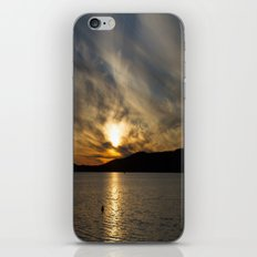 Let's watch the sun go down iPhone & iPod Skin
