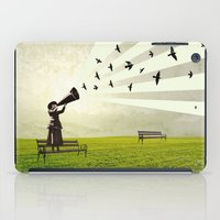 singing birds iPad Case