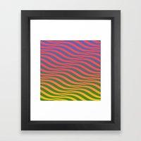 Waves#6 Framed Art Print