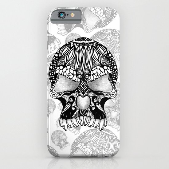 Sugar Skull.  iPhone & iPod Case