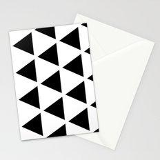Sleyer Black on White Pattern Stationery Cards