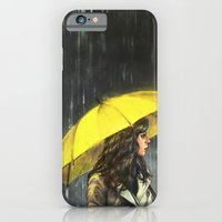 iPhone Cases featuring All Upon the Downtown Train by Alice X. Zhang