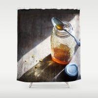 Sunlight And Honey - Kit… Shower Curtain