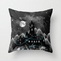 The Hidden Kingdom Throw Pillow