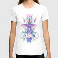 Sea Life Womens Fitted Tee White SMALL