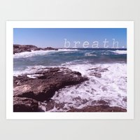 Breath Art Print