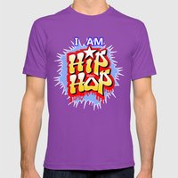 HIP-HOP Mens Fitted Tee Ultraviolet SMALL