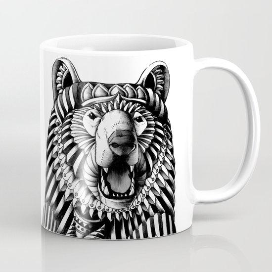 Ornate Grizzly Bear Mug