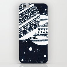 Pattern Doodle One (Invert) iPhone & iPod Skin