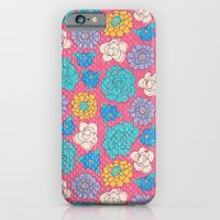 iPhone & iPod Case featuring RocoFlowers (strawberry) by MaJoBV