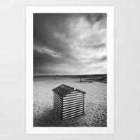 Beach Huts, Great Yarmou… Art Print