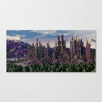 Rise of … Canvas Print