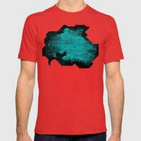Patronus in a Dream Mens Fitted Tee Red SMALL